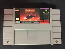 SUPER NINTENDO SNES : TURN AND BURN NO FLY ZONE (usa)