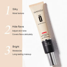 Waterproof Full Coverage Liquid Concealer Face Brightening Foundation Cream 30ml