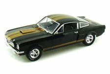 1966 Ford Shelby Gt 350H #14 Shelby Collectibles Sc360Bk 1/18 Diecast Car