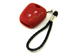 Silicone Shell Case Holder For Peugeot Remote Key 107 207 307 607 206 306 C3 Red