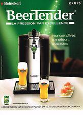 PUBLICITE ADVERTISING 054  2007   HEINEKEN KRUPS  le BEERTENDER pression