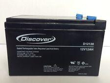 DISCOVER  Batteria  12v   12 Ah UPS D12120