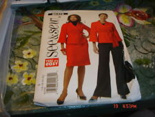 BUTTERICK SEE AND SEW WOMANS PATTERN 16-22 UNCUT