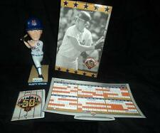 METS~2012 SCHEDULE MAGNET & POCKET~RUSTY STAUB BOBBLE HEAD 5/26/12~SGA