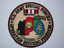 US ARMY SPECIAL FORCES OEF PATCH