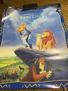 The Lion King Pride Rock Masterpiece Walt Disney Poster (1994)
