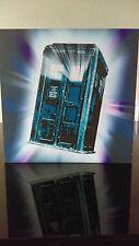 BBC Doctor Who Art Print Tardis montado madera prensada Listo Para Colgar 16 X 16 in (approx. 40.64 cm)
