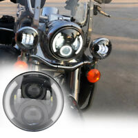 """7"""" Inch Motorcycle LED Projector Headlight for harley Softail Road King"""