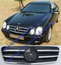 Mercedes w208,c208,1995-03 grille,Central Star,AMG CLK55;CLK63 look.CLK230;200