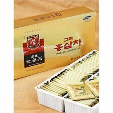 Premium Korean Red Ginseng Extract Root Tea Bag Oriental Health 100 pcs x 3g