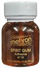SPIRIT GUM LIQUID ADHESIVE MEHRON  FX PROSTHETICS  MAKEUP 1OZ. NEW