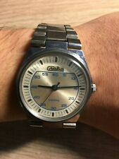 Slava Russian Soviet Vintage Quartz Watch (Electromechanical series)