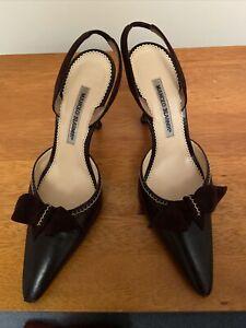Manolo Blahnik Brown Sandal Size 38