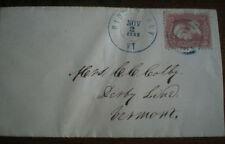 Handstamped United States Stamps