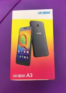 ALCATEL 3 - 16GB - Spectrum Black (Unlocked) (Single SIM)