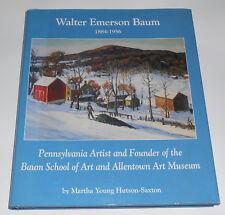 Vintage Signed Walter Emerson Baum 1884-1956 Artist Baum School Bucks County PA