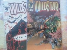 Wildstar (5) Comic Book Lot from Image Comics and Al Gordon and Jerry Ordway