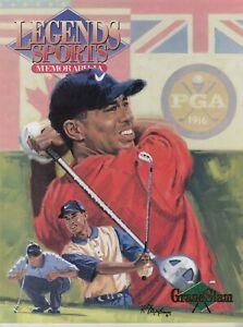 Tiger Woods  Cover Legends Sports Memorabilia Magazine 2001