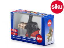 Siku 1722 Linde Forklift Truck Lifting + Tilting Forks & 2 Pallets Die-Cast 1:50