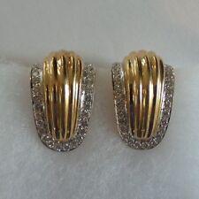14 K Gold & Diamond Earrings, 2000 Appraisal @ $2629.50
