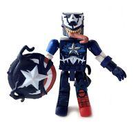 Venomized Captain America Marvel MiniMates Figure Spiderman Maximum Venom Wave