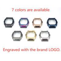 Custom Watch Case Bezel Metal 316L Stainless Steel For Casios DW5600 GW-M5610
