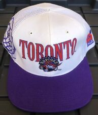 NWOT Vintage Toronto Raptors Sports Specialties Snapback Hat 1994 Shadow Laser
