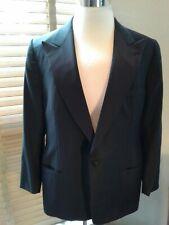 ERMENEGILDO ZEGNA Wool Formal Tuxedo Dinner Jacket Peak Lapels 46R  P10934