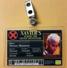 X men ID Badge -  Xavier's School Ororo Munroe Storm Cosplay prop costume
