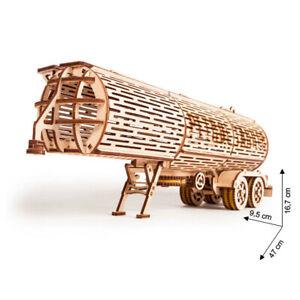 Wood Trick - Model Building Tank Trailer Vehicle Big Rig Pendant 200 Pieces