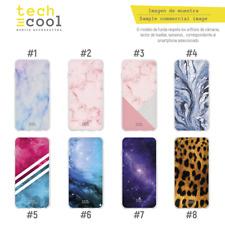 Funda Silicona Samsung Galaxy A7 2018 Textura marmol Galaxia Leopardo