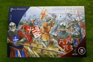Perry Miniatures Agincourt Foot Knights 1415-1429 28mm Plastic set