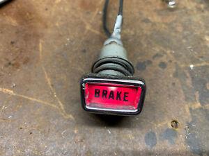 63 64 Ford Mercury Monterey Galaxie Brake Warning Light OEM 1963-1964