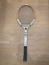 vintage Evonne Goolagong Autograph tennis racquet by Dunlop- racket - rare