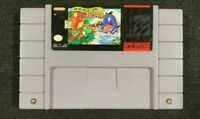 Super Mario World 2 Yoshis Island Nintendo SNES tested original authentic