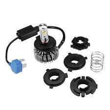 1PCS Motorcycle Bike Headlight LED CREE Chip Hi/Lo H4 9003 6000K 20W 4000LM Bulb