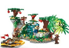 770PCS Forest Adventure Series Explore The Stones Scenes Building Blocks Bricks