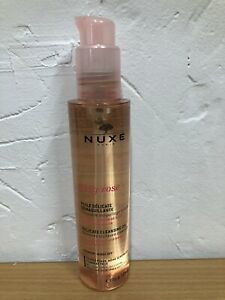 New Nuxe Paris Delicate Very Rose Cleansing Oil -rinse Off rose extract 150ml