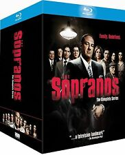 THE SOPRANOS COMPLETE BLU RAY BOX SET SERIES 1-6 BRAND NEW SEASONS 1 2 3 4 5 6