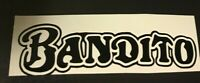 Bandito Bmx Sticker Decal Trick Graphic Bicycle Motocross Old School GT Haro CW
