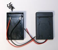 Battery Adapter Mounting Plate for Sony NP-F970 750 F550 L Series (4pc set)