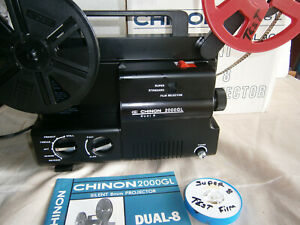 Dual 8mm Auto-load Compact...Easy to Use Projector