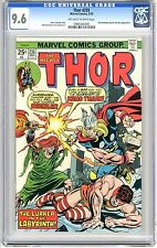 Thor  #235  CGC  9.6  NM+  off - white to white pages