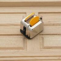 1:12 Scale Dollhouse Miniature Bread Toaster Model Home Decor Kitchen