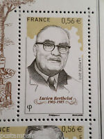 FRANCE 2010 timbre 44487, BOURSE aux TIMBRES, BERTHELOT, neuf**, MNH CELEBRITY