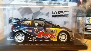 Ford Fiesta WRC 2017 Monte Carlo Sebastian Ogier 1:24 Altaya Diecast