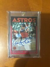 CARLOS CORREA 2016 TOPPS ARCHIVES FAN FAVORITES RED AUTOGRAPH  SP # 22/50 AUTO