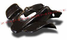 NEW HONDA TRX 400EX 99 - 04 BLACK FRONT FENDER PLASTIC TRX400EX PLASTICS