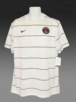New NIKE PSG Paris Saint-Germain FOOTBALL Training Pre Match Shirt White XXL