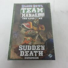 FFG Blood Bowl Team Manager The Card Game Sudden Death Expansion NEW